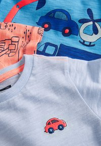 Next - FIVE PACK - T-shirt print - blue - 7