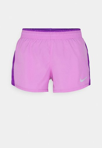 10K SHORT - Pantalón corto de deporte - fuchsia glow/wild berry/wolf grey