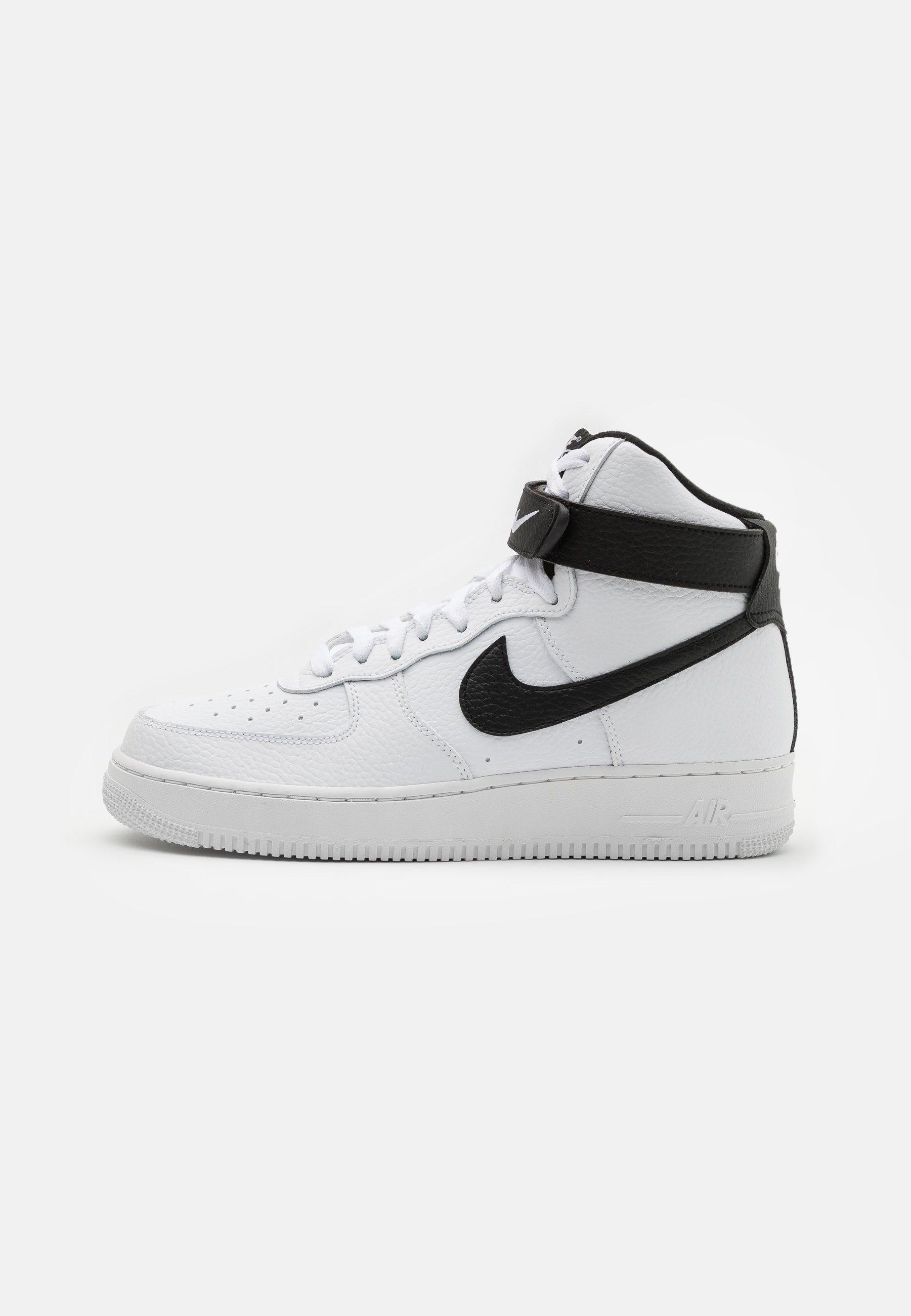 Nike Sportswear Air Force 1 High 07 Sneaker High White Black Weiß Zalando De