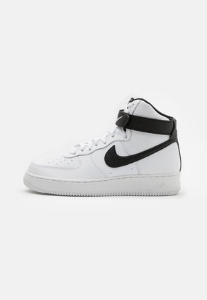 AIR FORCE 1 HIGH '07  - Korkeavartiset tennarit - white/black