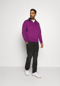 Columbia - BUGA QUARTER ZIP - Sweatshirt - plum/black - 1