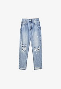 PULL&BEAR - Relaxed fit jeans - dark blue - 5