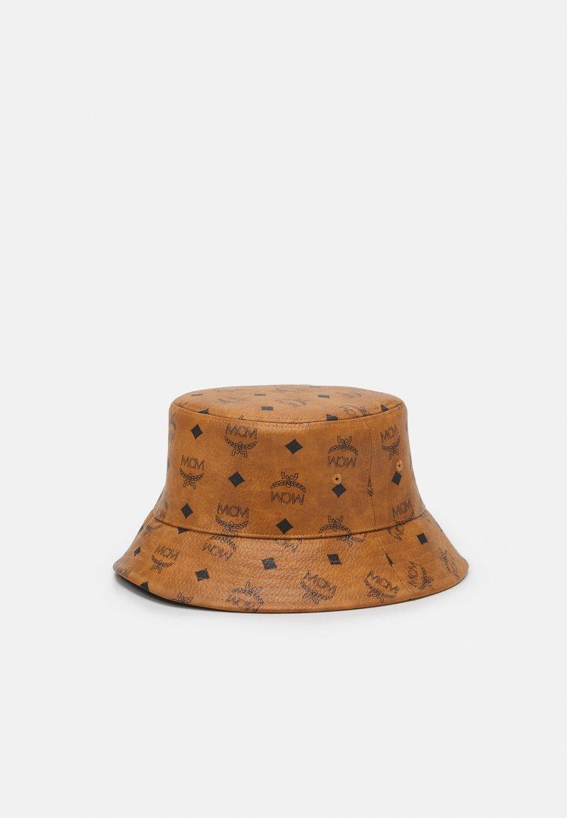 MCM - COLLECTION HAT UNISEX - Hat - cognac