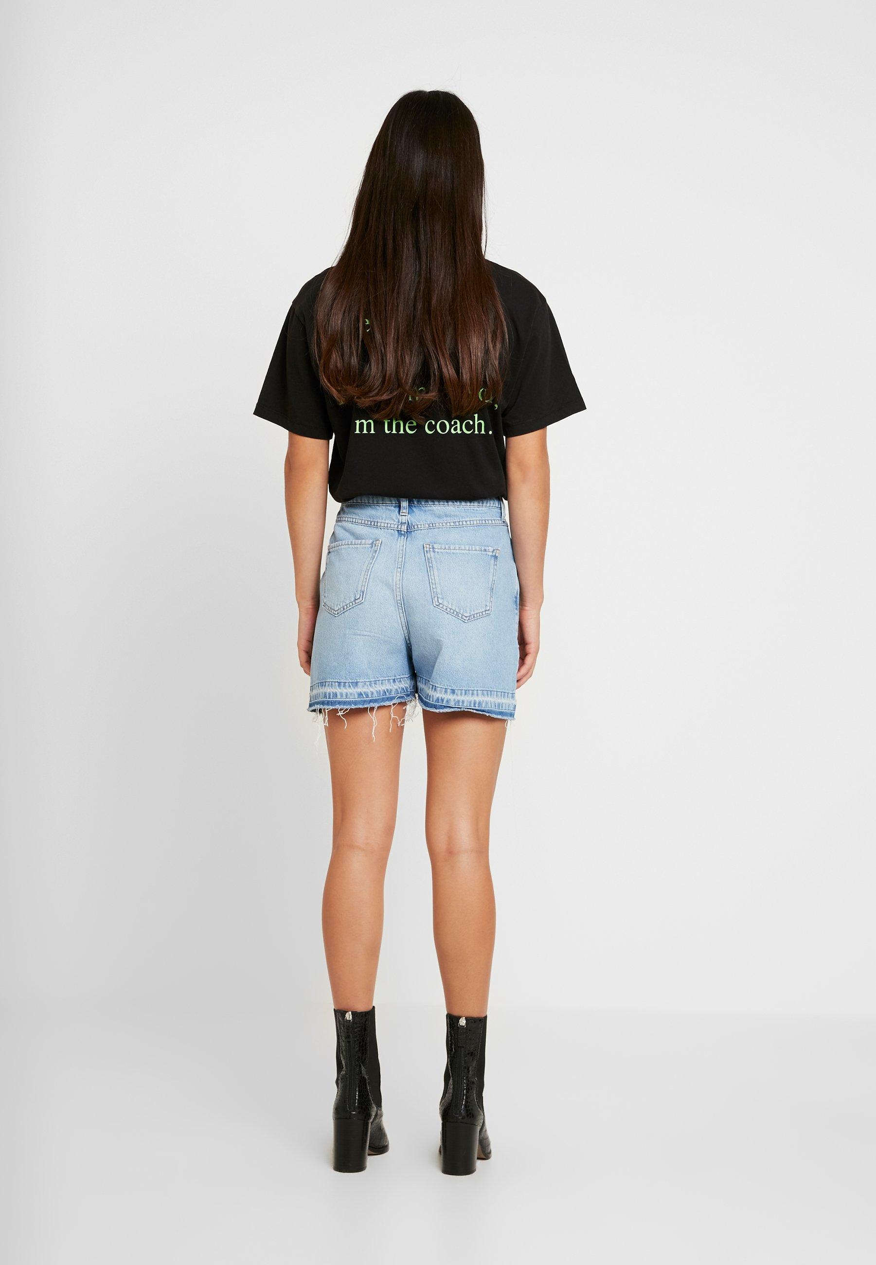Women WRAPPED  - Denim shorts