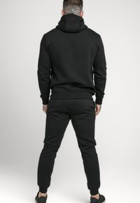 SIKSILK - ZIP THROUGH FUNNEL NECK HOODIE - Zip-up hoodie - black - 2