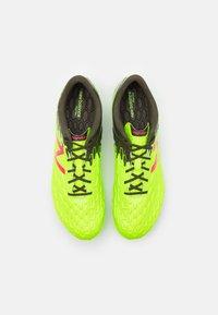 New Balance - MSVMIA  - Voetbalschoenen met kunststof noppen - energy lime/military - 3