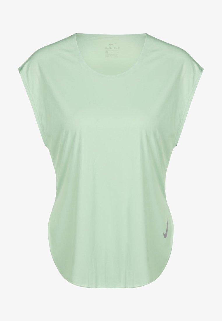 Nike Performance - CITY SLEEK - Print T-shirt - pistachio frost