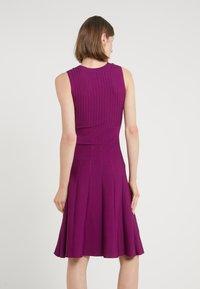 Pinko - INDOSSO ABITO - Abito in maglia - purple - 2