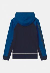 Automobili Lamborghini Kidswear - COLOR BLOCK HOODED - Felpa - blue hera - 1