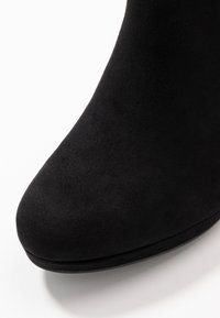 New Look - QUEUE - High heeled ankle boots - black - 2