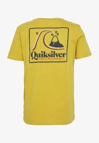 Quiksilver - BEACH TONES - Print T-shirt - honey - 1