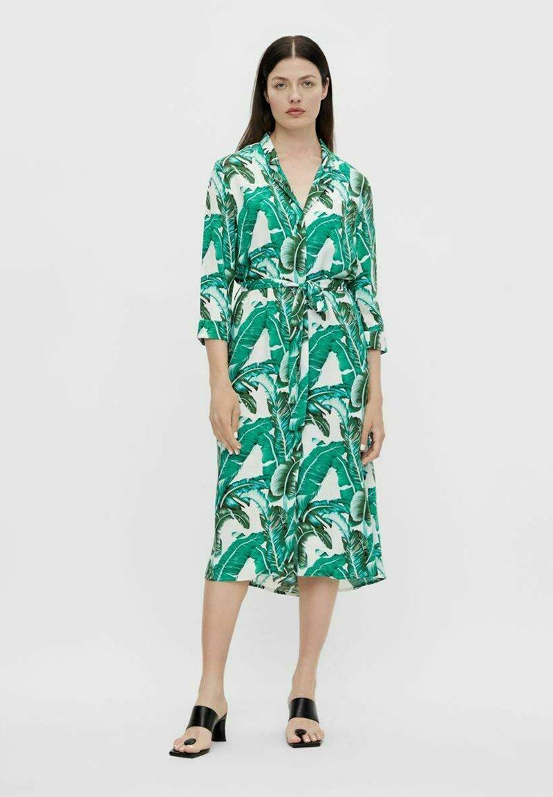 Object - Shirt dress - gardenia