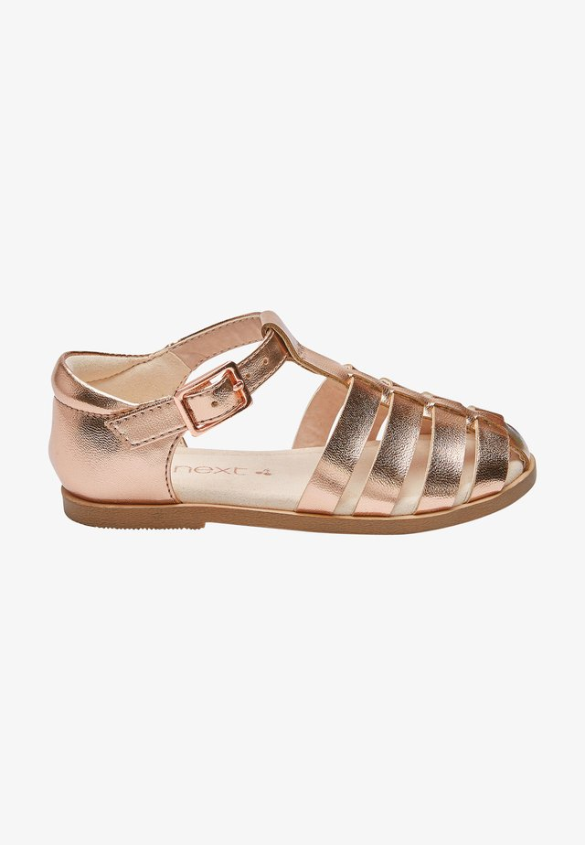Sandály - rose gold coloured
