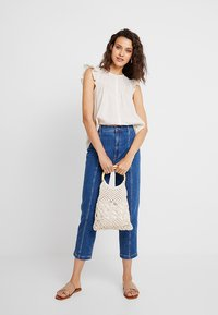 Madewell - BUTTON DOWN FLUTTER SLEEVE - Blouse - off-white - 1