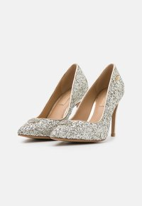 Liu Jo Jeans - MILU DÉCOLLETÉ GLITTER  - Klassiske pumps - silver/light gold - 2