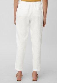 Marc O'Polo - Trousers - white linen - 2