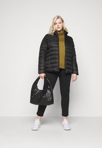 Even&Odd Curvy - Down jacket - black - 1