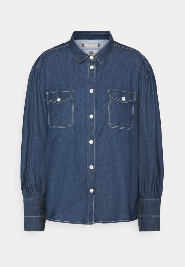 LIGHT WEIGHT - Skjorte - denim dark blue