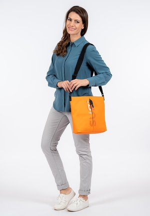 Across body bag - orange 610