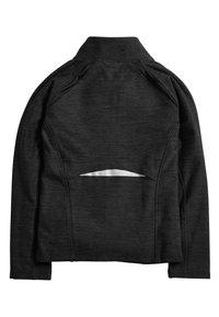 Next - Zip-up sweatshirt - black - 1