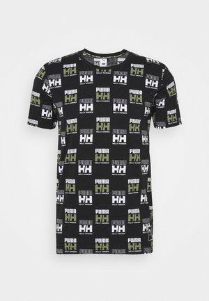 HELLY HANSEN TEE - T-shirts print - black