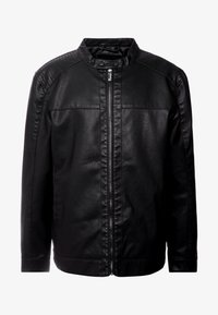 Only & Sons - ONSMIKE RACER JACKET  - Faux leather jacket - black - 3