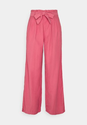 ONLAMINTA ARIS LIFE WIDE PANT - Trousers - baroque rose
