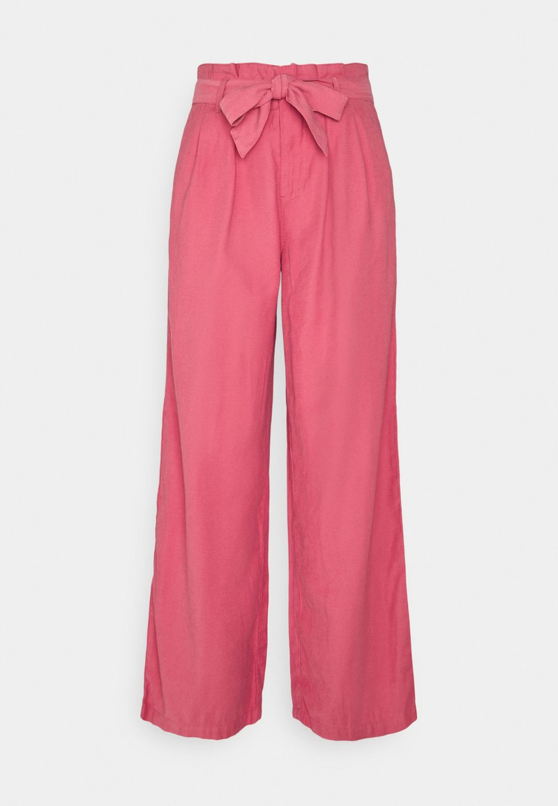 ONLY - ONLAMINTA ARIS LIFE WIDE PANT - Trousers - baroque rose