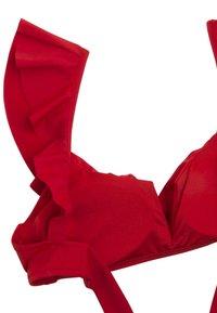 OYSHO - Bikini top - red - 6