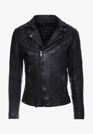 BESPACE - Leather jacket - black