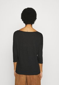 Sisley - Long sleeved top - black - 2