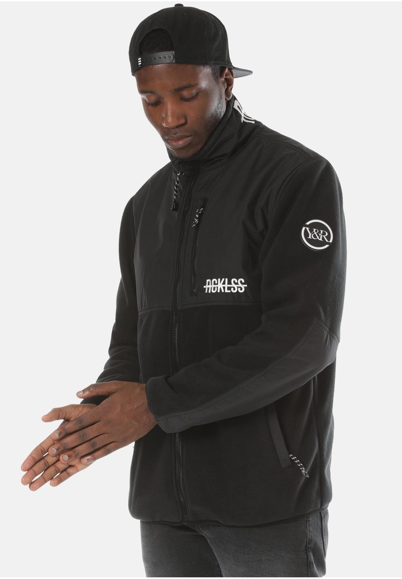 Young and Reckless - Fleece jacket - black