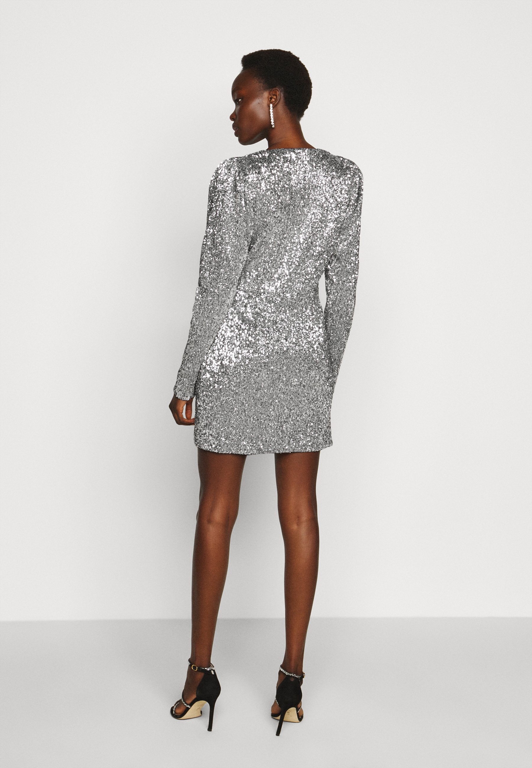 Professional Women's Clothing 2nd Day EDITION TRINA Cocktail dress / Party dress silver cJgxBe8y1
