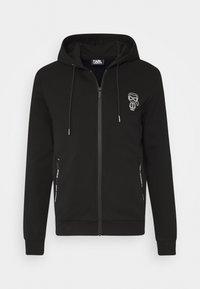 KARL LAGERFELD - HOODY - Zip-up hoodie - black - 6