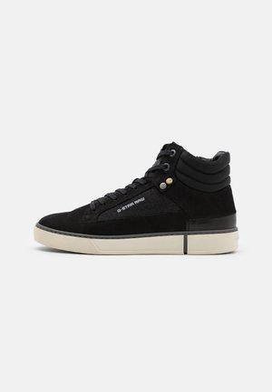 RAVOND MID  - Höga sneakers - black