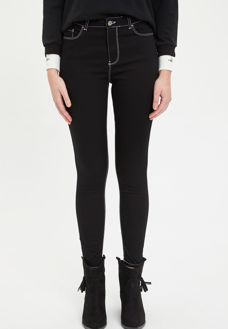 DeFacto - ANNA  - Jeans Skinny Fit - black