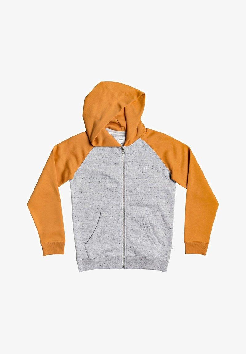 Quiksilver - EASYDAY ZIP - Zip-up sweatshirt - apricot buff