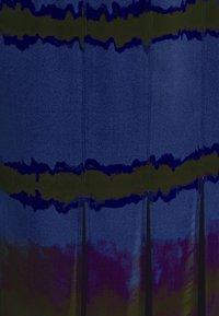 Who What Wear - SLIT SKIRT - A-line skirt - blue tie dye - 2
