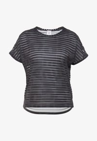 Desigual - TEE STRIPES PATCH - Print T-shirt - dark green - 5