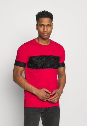 BARCO TEE - Print T-shirt - red/black