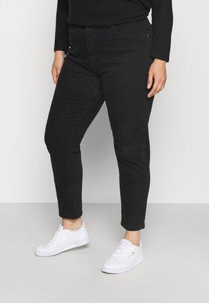 CARENEDA MOM - Slim fit jeans - black
