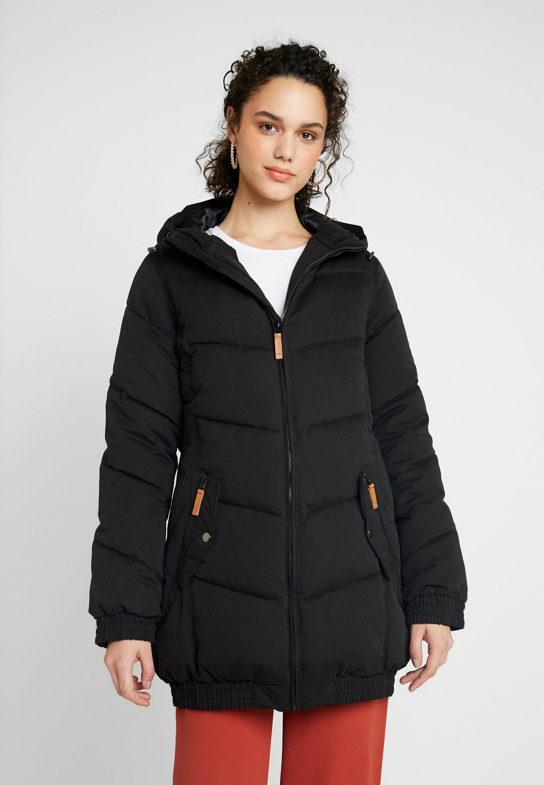 Winterjas black