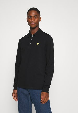 Polo shirt - jet black