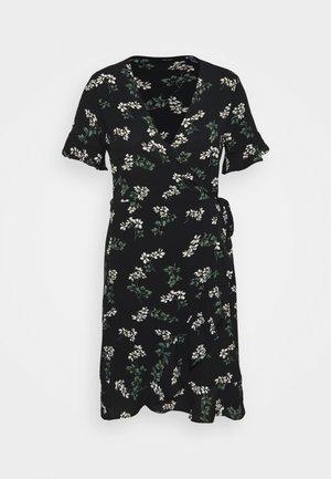 VMSAGA WRAP FRILL DRESS  - Day dress - black