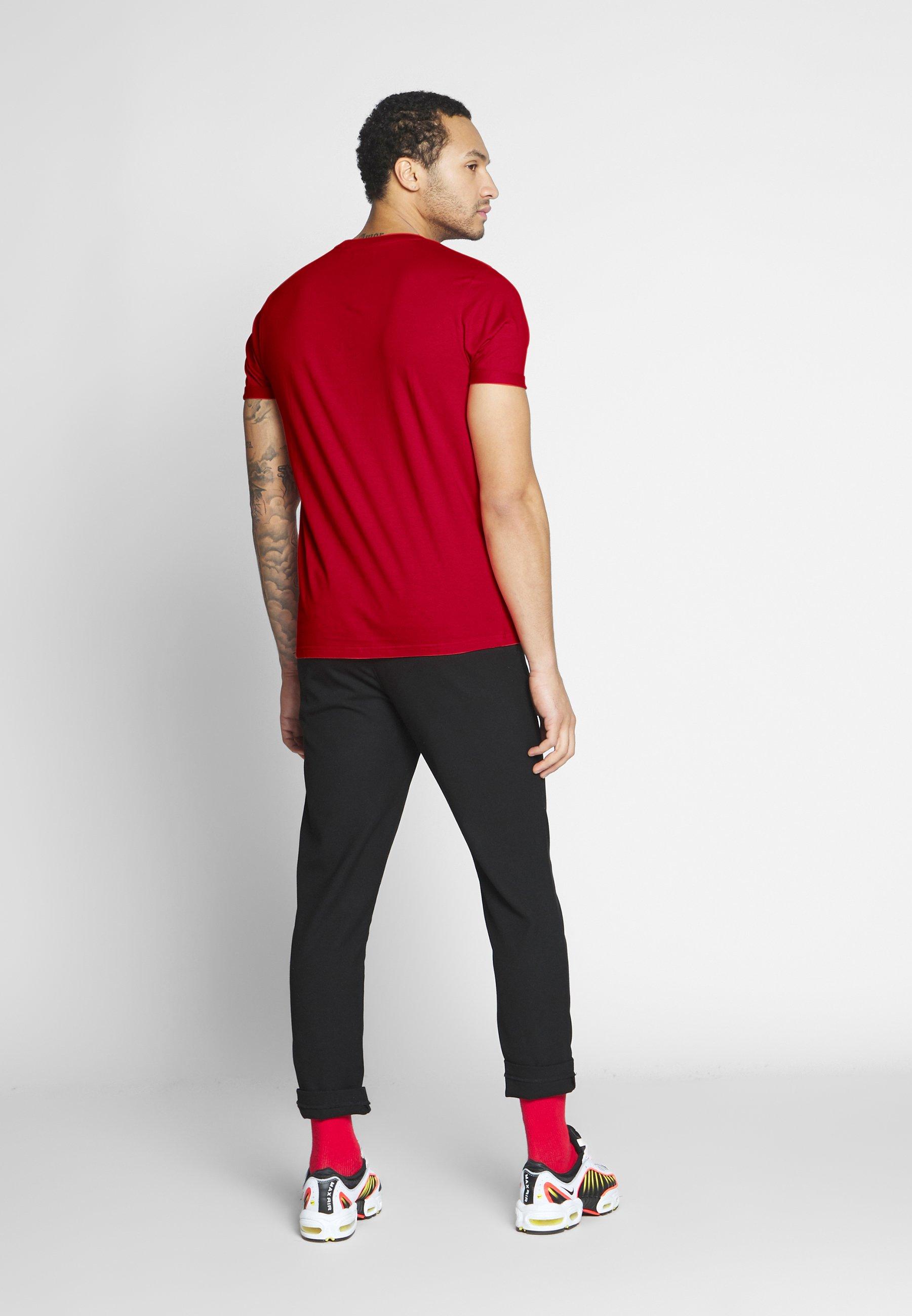 Brave Soul Print T-shirt - red dH9js