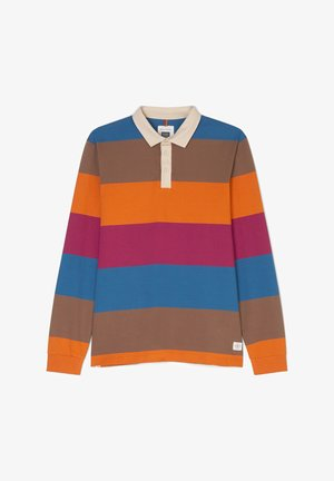 Polo shirt - multi/cinnamon