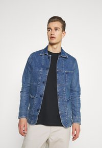 Selected Homme - SLHJACKSON JACKET - Denim jacket - medium blue denim - 0