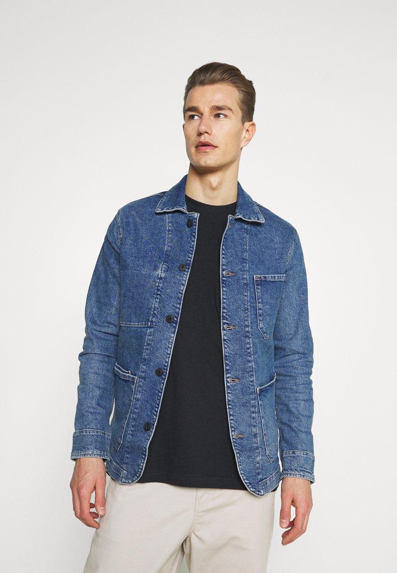 Selected Homme - SLHJACKSON JACKET - Denim jacket - medium blue denim