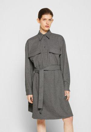 DRESS - Shirt dress - grey