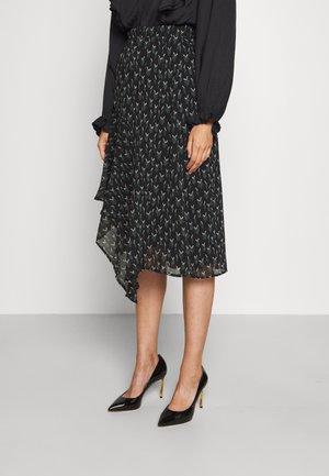 VERVAIN MARILYN CIRA SKIRT - A-line skirt - black
